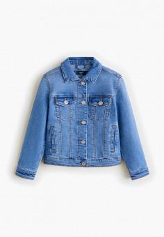 81e0287977856b3 Куртка джинсовая, Mango Kids, цвет: синий. Артикул: MA018EGFRAY2. Mango Kids