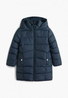e35d02ea84395 Куртка утепленная, Mango Kids, цвет: синий. Артикул: MA018EGGADA1. Девочкам  /