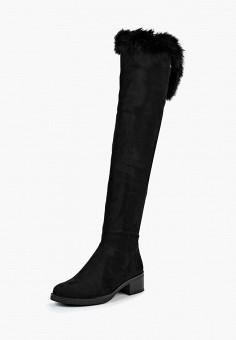 167d7b13e8e9 Ботфорты, Max Shoes, цвет  черный. Артикул  MA095AWDAAM6. Обувь   Сапоги