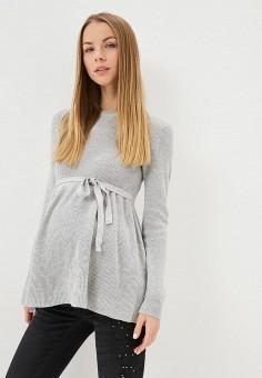 Джемпер, Mamalicious, цвет  серый. Артикул  MA101EWCDXW9. Одежда   Одежда  для 04556df61b4