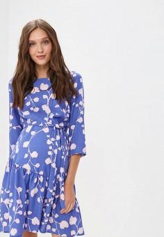 f2378ca20838 Платье, Mamalicious, цвет  синий. Артикул  MA101EWECKQ4. Одежда   Одежда для
