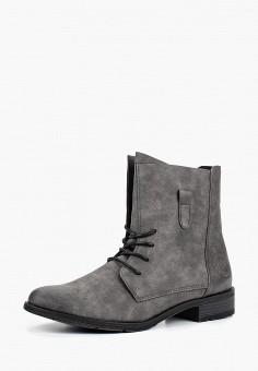 efadbe19acf5 Ботинки, Marco Tozzi, цвет  серый. Артикул  MA143AWBUHZ2. Marco Tozzi