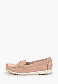 143a332c1 Мокасины, Marco Tozzi, цвет: розовый. Артикул: MA143AWEABX0. Обувь /  Мокасины