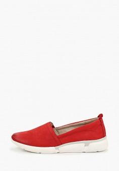 f415f07a56d5 Слипоны, Marco Tozzi, цвет  красный. Артикул  MA143AWEACL6. Обувь   Слипоны