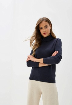 Водолазка, Marks & Spencer, цвет: синий. Артикул: MA178EWDFEC1. Marks & Spencer
