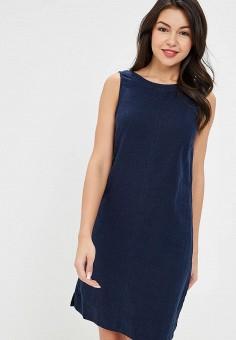 Платье, Marks  amp  Spencer, цвет  синий. Артикул  MA178EWDWAO1. Одежда aabbf1b4cd7