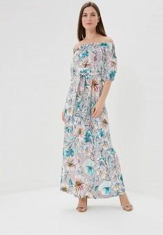 Платье, MadaM T, цвет: серый. Артикул: MA422EWATVL7. Одежда / Платья и сарафаны