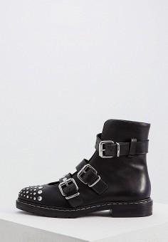 a4292304 Ботинки, McQ Alexander McQueen, цвет: черный. Артикул: MC010AWDMZX6. Обувь /