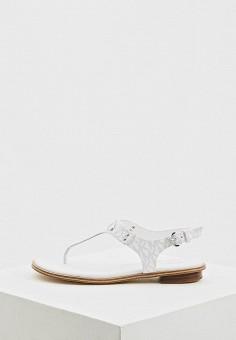 8681c11c2 Сандалии, Michael Michael Kors, цвет: белый. Артикул: MI048AWFACQ8. Обувь