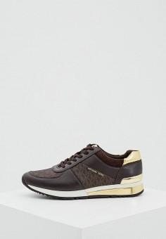 Кроссовки, Michael Michael Kors, цвет  коричневый. Артикул  MI048AWHLF24.  Обувь c735dd81f6b