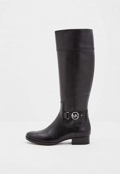 Сапоги, Michael Michael Kors, цвет  черный. Артикул  MI048AWWBR65. Обувь fb7e347db5a