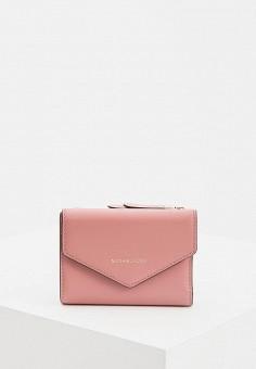 b56cef5b4165 Кошелек, Michael Michael Kors, цвет: розовый. Артикул: MI048BWDRDK5.  Аксессуары /