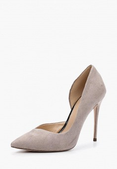 Туфли, Miss KG by Kurt Geiger, цвет: серый. Артикул: MI060AWZRV26. Miss KG by Kurt Geiger