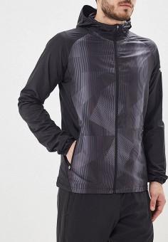 bcbb34d6 Ветровка, Mizuno, цвет: черный. Артикул: MI951EMFHDL6. Одежда / Верхняя  одежда