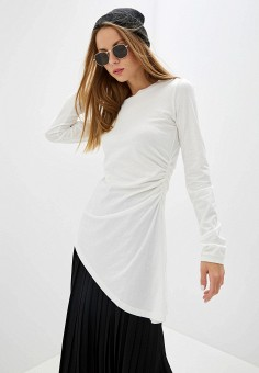 dee63918da71 Туника, MM6 Maison Margiela, цвет: белый. Артикул: MM004EWFWFX0. Premium /