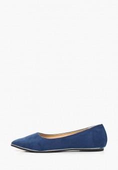 84e01dc5b Балетки, Modis, цвет: синий. Артикул: MO044AWFCUT7. Обувь / Балетки /