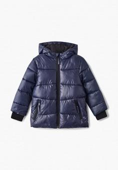 Куртка утепленная, Modis, цвет  синий. Артикул  MO044EBDCDN5. Мальчикам    Одежда 98903cb6524