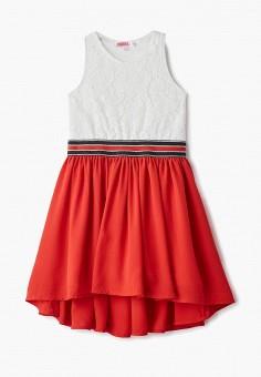 3f9727be24356b1 Платье, Modis, цвет: белый. Артикул: MO044EGFAQH3. Девочкам / Одежда