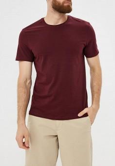 daf8ffc9324e3b3 Футболка, Modis, цвет: бордовый. Артикул: MO044EMCIWT7. Одежда / Одежда  больших