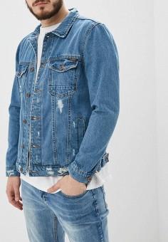 de8a5951 Куртка джинсовая, Modis, цвет: голубой. Артикул: MO044EMFCLO7. Одежда /  Верхняя