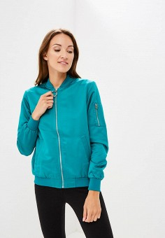 3825073f20ca5 Куртка, Modis, цвет: бирюзовый. Артикул: MO044EWCHLW4. Одежда / Верхняя  одежда