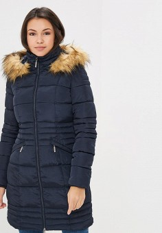 78120ee3ac225 Куртка утепленная, Modis, цвет: синий. Артикул: MO044EWCSXK5. Одежда /  Верхняя