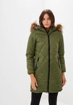 39fea1c65 Куртка утепленная, Modis, цвет: хаки. Артикул: MO044EWCSXM1. Одежда /  Верхняя