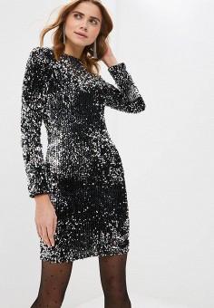 Платье, Modis, цвет  серебряный. Артикул  MO044EWDOAQ2. Одежда 4ae77af0845