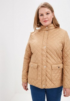 8a78ad8a6bf55 Куртка, Modis, цвет: бежевый. Артикул: MO044EWDSRO9. Одежда / Верхняя одежда