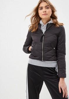 60b812e7ccef2 Куртка, Modis, цвет: черный. Артикул: MO044EWDVME3. Одежда / Верхняя одежда