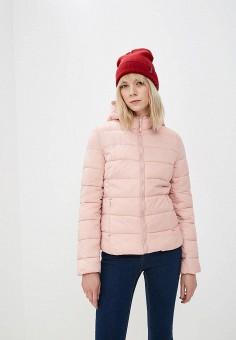 cecb0fc9e590 Куртка утепленная, Modis, цвет  розовый. Артикул  MO044EWEBDX1. Одежда    Верхняя