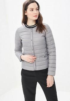 a1f2aabb3d736 Куртка утепленная, Modis, цвет: серый. Артикул: MO044EWEFAU2. Одежда /  Верхняя