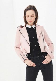 07a39f9644650 Куртка, Modis, цвет: розовый. Артикул: MO044EWEFAW5. Одежда / Верхняя одежда