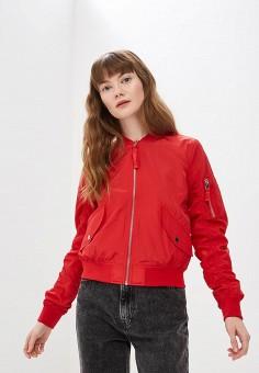 c2ce1e307ebc8 Куртка, Modis, цвет: красный. Артикул: MO044EWEZBG4. Одежда / Верхняя одежда