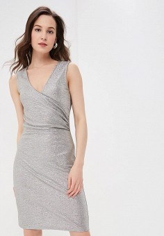 2443c10e573ab8e Платье, Modis, цвет: серебряный. Артикул: MO044EWFBOB0. Одежда / Платья и
