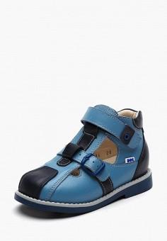 73bcb342 Туфли, BOS Baby Orthopedic Shoes, цвет: синий. Артикул: MP002XB006UJ.  Мальчикам