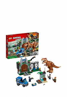 Конструктор Jurassic World, LEGO, цвет: мультиколор. Артикул: MP002XB00840. Игрушки