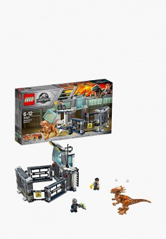 Конструктор Jurassic World, LEGO, цвет: мультиколор. Артикул: MP002XB00842. Игрушки / Конструкторы / LEGO-конструкторы