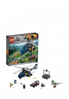 Конструктор Jurassic World, LEGO, цвет: мультиколор. Артикул: MP002XB00843. Игрушки / Конструкторы / LEGO-конструкторы