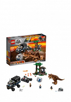 Конструктор Jurassic World, LEGO, цвет: мультиколор. Артикул: MP002XB00844. Игрушки / Конструкторы / LEGO-конструкторы