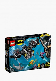 Конструктор Marvel Super Heroes, LEGO, цвет: мультиколор. Артикул: MP002XB00CAT. Игрушки / LEGO / DC Super Heroes