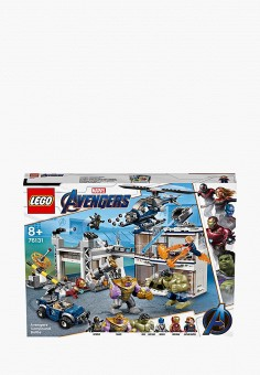 Конструктор Marvel Super Heroes, LEGO, цвет: мультиколор. Артикул: MP002XB00CNJ. Игрушки / Конструкторы / LEGO-конструкторы
