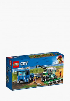 Конструктор City, LEGO, цвет: мультиколор. Артикул: MP002XB00GEU. Игрушки