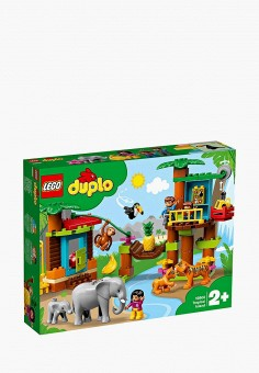 Конструктор DUPLO, LEGO, цвет: мультиколор. Артикул: MP002XB00GEV. Игрушки