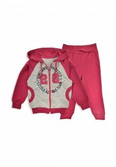 85efeeee6155f Костюм спортивный, Бемби, цвет: розовый, серый. Артикул: MP002XG004EM.  Девочкам