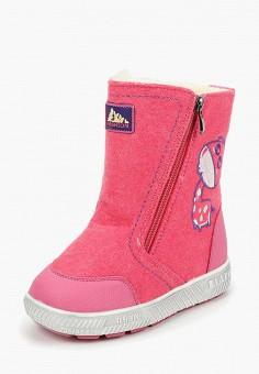 6006598bf Валенки, Капитошка, цвет: розовый. Артикул: MP002XG00FWF. Девочкам / Обувь /