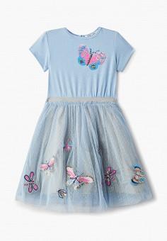 768e96f83b1a701 Платье, Zarina, цвет: голубой. Артикул: MP002XG00JOH. Девочкам / Одежда /