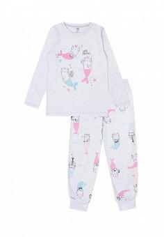 4662de3867622 Пижама, Crockid, цвет: серый. Артикул: MP002XG00KQ8. Девочкам / Одежда /