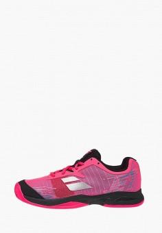 5b75da90 Кроссовки, Babolat, цвет: розовый. Артикул: MP002XG00KQT. Девочкам / Обувь /