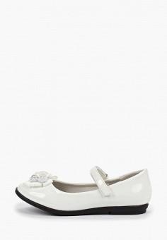 818e080a5 Туфли, Vitacci, цвет: белый. Артикул: MP002XG00L7M. Девочкам / Обувь /